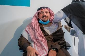 أمير القصيم يتلقى الجرعة الأولى من لقاح كورونا - المواطن