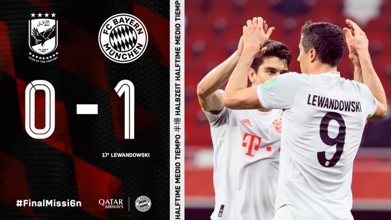 Bayern munich إلى نهائي مونديال الأندية 2021 - المواطن
