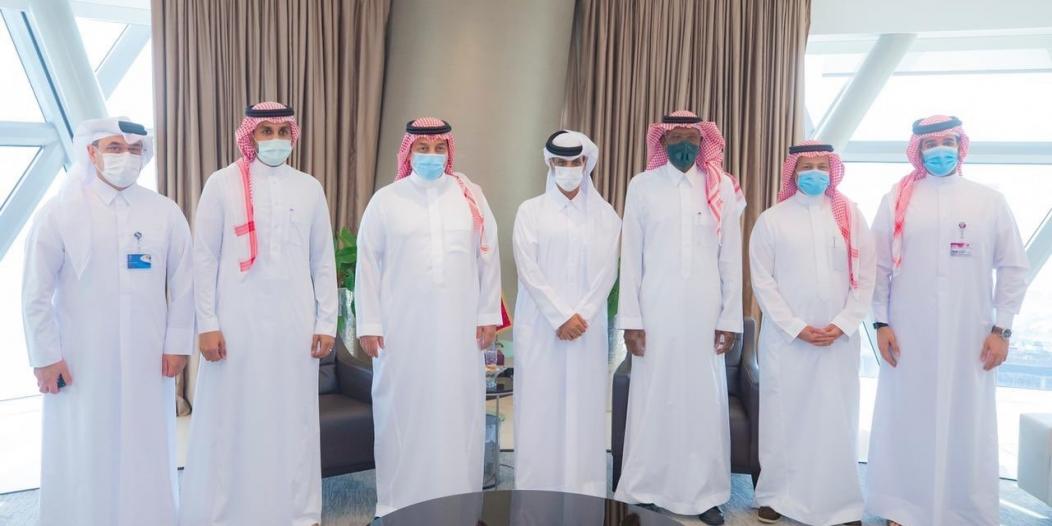 تفاصيل زيارة وفد الاتحاد السعودي لنظيره القطري