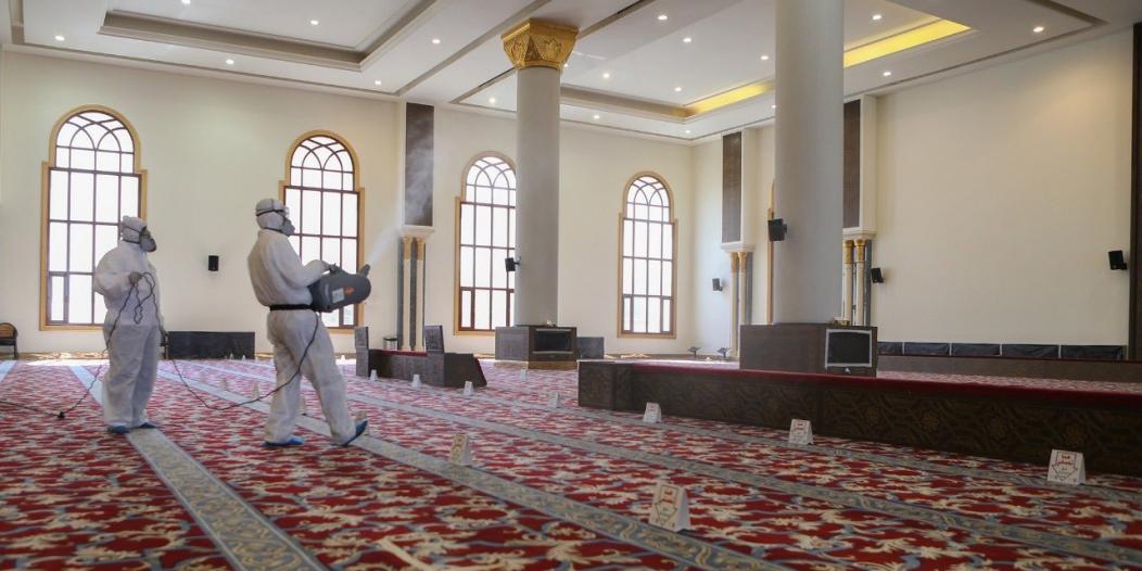الشؤون الإسلامية تغلق 14 مسجداً مؤقتاً في 6 مناطق