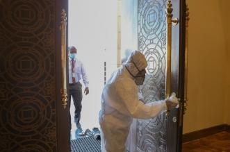 إعادة افتتاح مسجد بعد تعقيمه في تبوك - المواطن