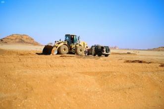ضبط 58 مخالفًا لنظام البيئة يقومون بنقل الرمال وتجريف التربة - المواطن