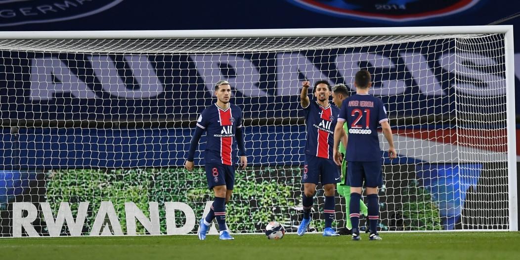 باريس سان جيرمان يُعاني في الدوري الفرنسي