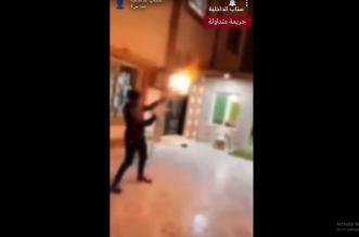 فيديو .. القبض على شخصين أطلقا النار في الهواء بالرياض - المواطن