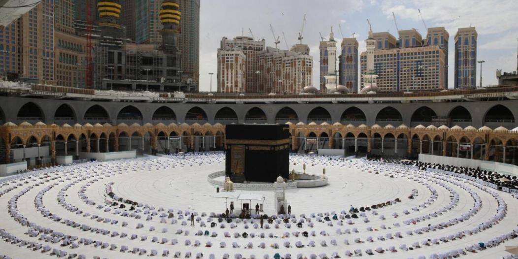 تنفيذ تجربة التغذية الكهربائية للتأكد من جاهزية كهرباء المسجد الحرام