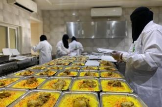 أمير الرياض يوجه بصرف 1000 وجبة