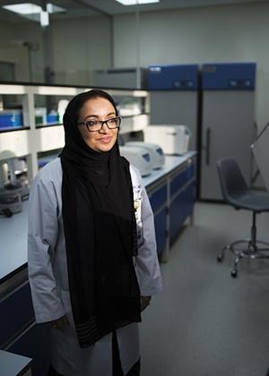 سيدة سعودية على قائمة غيرت وجه العلم بالشرق الأوسط