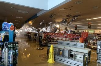 عاصفة مخيفة تضرب أمريكا وتقطع الكهرباء عن 5 مليون منزل (1)