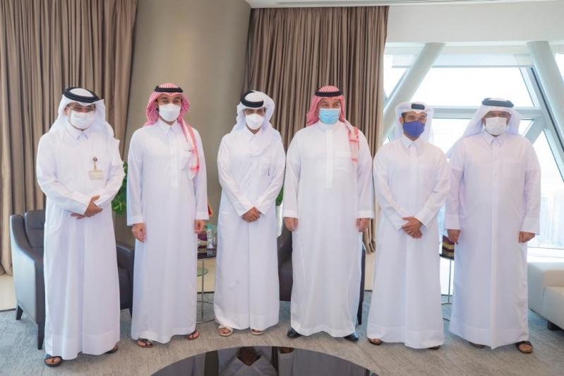 عبدالعزيز بن تركي الفيصل والمسحل في قطر