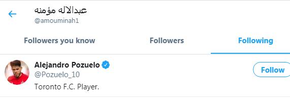 مؤمنة يتابع حساب بوزويلو