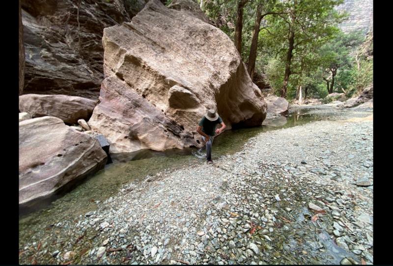 وادي لجب مكان سحري في قلب الصحراء - المواطن