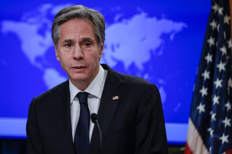وزير الخارجية الأمريكي : لن نقف مكتوفي الأيدي أمام مهاجمة الحوثيين للسعودية