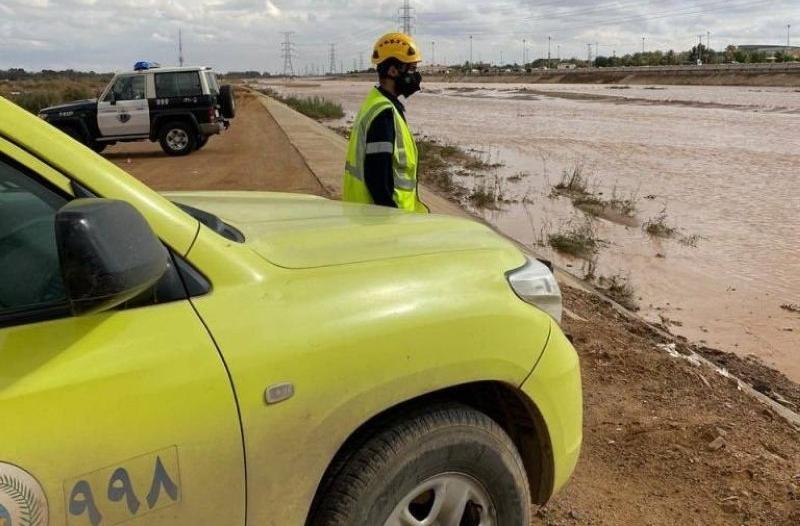 الدفاع المدني: حالة مطرية تستمر للخميس.. التزموا بالتعليمات واحذروا السيول