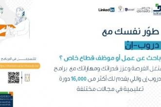 هدف: 16 ألف دورة تدريبية عن بعد في برنامج دروب-إن - المواطن