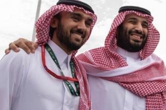 ولي العهد ووزير الرياضة