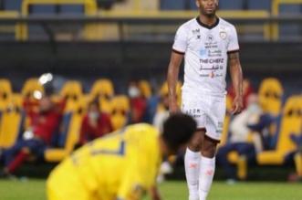 سيبا في مباراة النصر والشباب