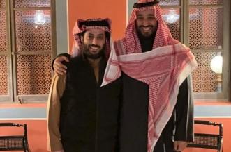 تركي آل الشيخ ينشر صورة مع ولي العهد ويعلق: أغلى تكريم - المواطن