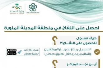 تدشين 10 مراكز للقاحات كورونا بمنطقة المدينة المنورة - المواطن