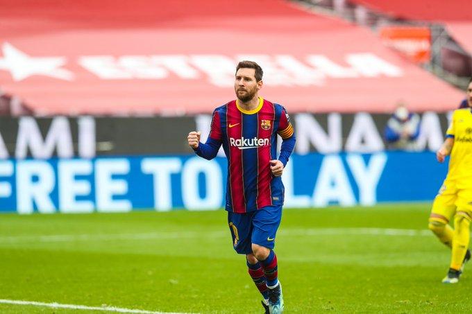 أرقام خرافية لـ ميسي بعد تعادل برشلونة وقادش