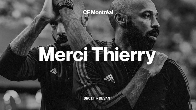 تيري هنري يستقيل من تدريب مونتريال الكندي