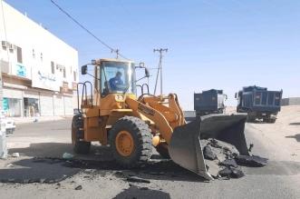 إزالة المطبات العشوائية من أحياء الطائف الجديد - المواطن