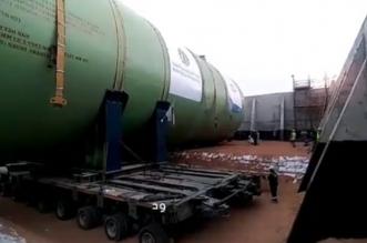 فيديو.. أكبر خزان غاز مُسال في العالم يصل إلى الرياض - المواطن
