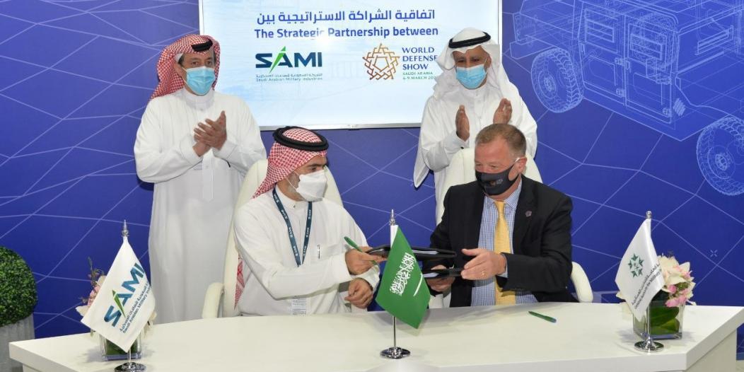 اتفاقيات ومذكرات تفاهم في الجناح السعودي بمعرض آيدكس 2021