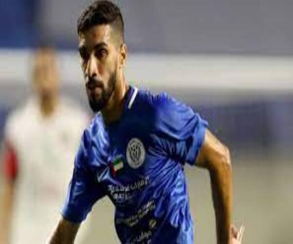 طارق أحمد لاعب النصر الإماراتي