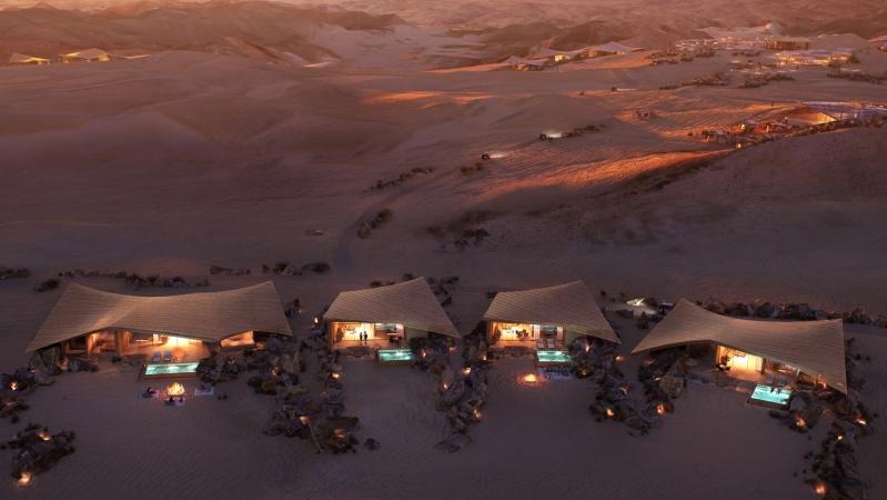 صور .. ساوثرن ديونز فندق جديد بمواصفات عالمية في السعودية