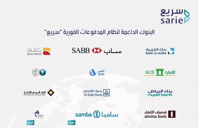 10 بنوك تدعم خدمات نظام المدفوعات الفورية سريع - المواطن