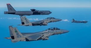 أمريكا: تحليق القاذفتين B-52 يأتي ضمن الالتزام بأمن حلفائنا