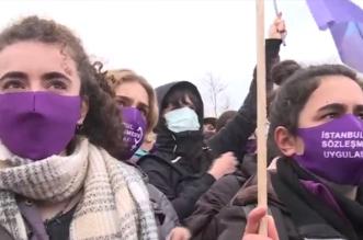 احتجاجات غاضبة في تركيا بسبب اتفاق إسطنبول (1)