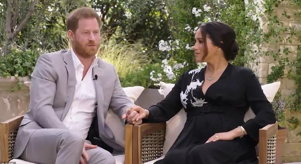 هاري يخشى أن يتكرر سيناريو الأميرة ديانا مع زوجته ميغان