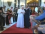 الدبكة والأهازيج العراقية تستقبل البابا فرنسيس في بغداد