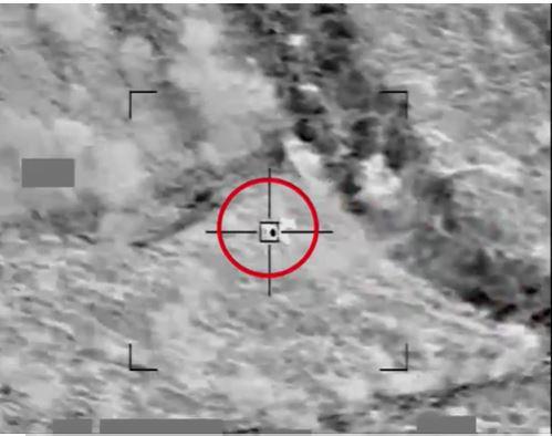 شاهد.. لحظة اعتراض التحالف طائرة حوثية مفخخة حاولت استهداف السعودية