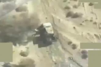فيديو.. التحالف يستهدف معدات وعناصر الحوثي في مأرب - المواطن
