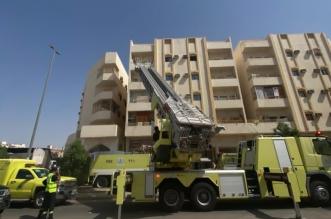 حريق عمارة بالمدينة المنورة.. والمدني يُخلي السكان - المواطن