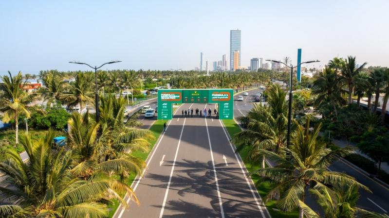 حلبة سباق فورمولا في جدة