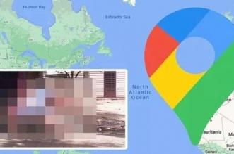 خرائط قوقل تلتقط صورة محرجة لفتاة !