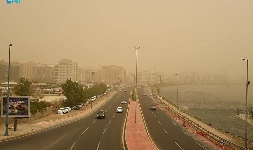 الأرصاد : درجات الحرارة تواصل الارتفاع غدًا وسرعة الرياح 40 كم/ ساعة