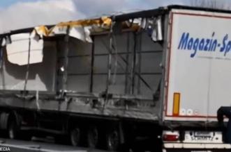 فيديو.. شاحنة تسحق مهاجرين سوريين حتى الموت (2)