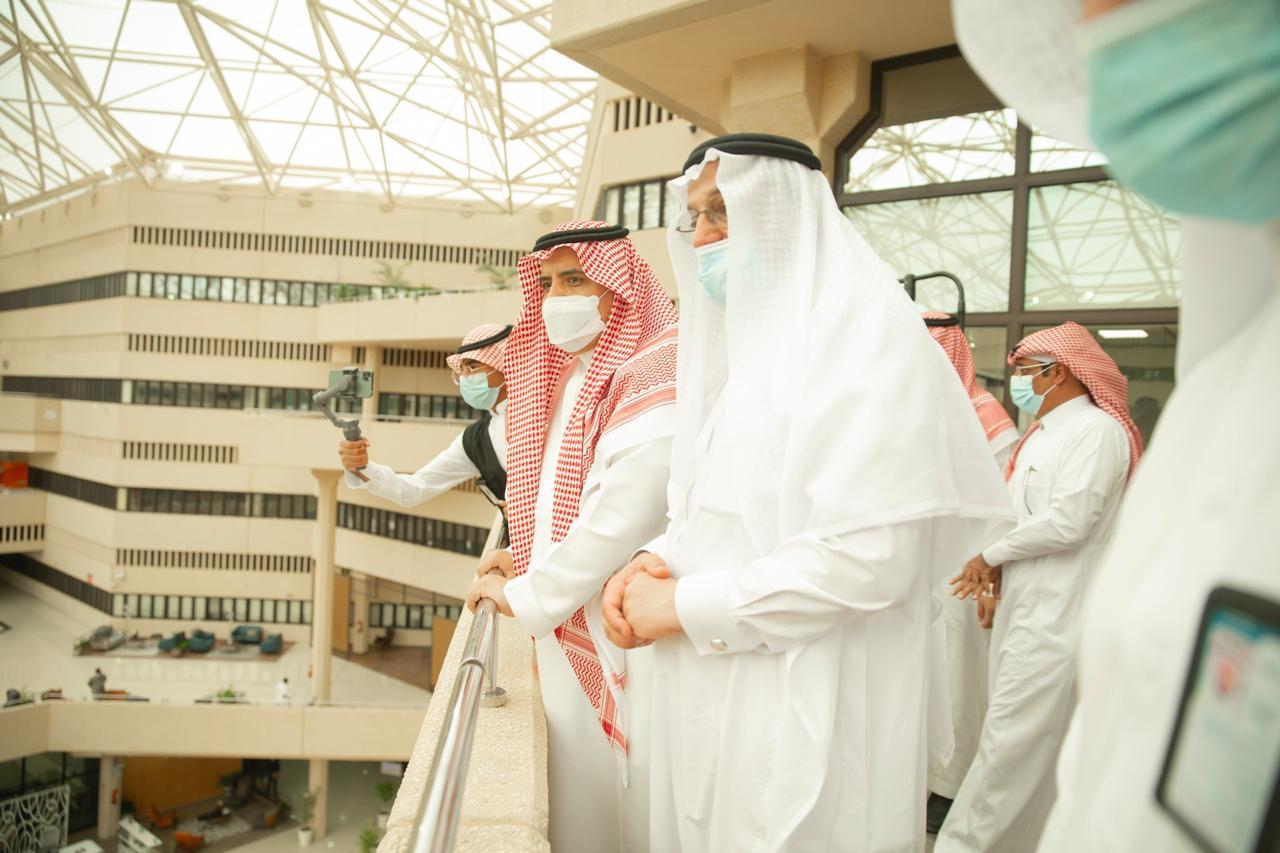 وزير التعليم جامعة القصيم (