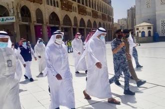 وزير الحج والعمرة يتفقد ميدانيًا مراكز استقبال المعتمرين
