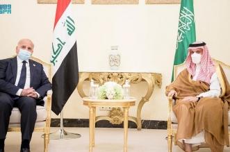 وزير الخارجية يستقبل وزير خارجية العراق2
