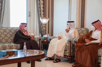 وزير الخارجية يعقد جلسة مباحثات مع نائب رئيس مجلس الوزراء وزير خارجية قطر - المواطن