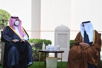 ولي عهد البحرين يبحث العلاقات الثنائية مع تركي بن محمد - المواطن