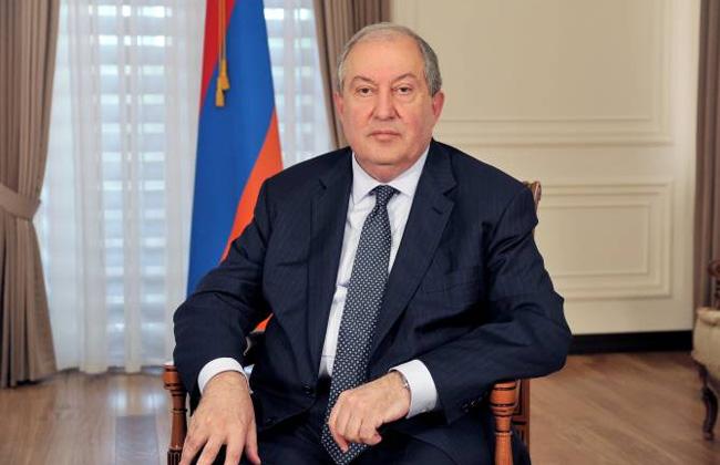 نقل الرئيس الأرمني إلى المستشفى بسبب كورونا