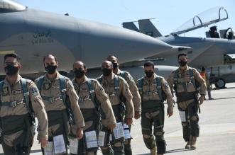 القوات الجوية السعودية تصل اليونان للمشاركة في مناورات عين الصقر 1 - المواطن
