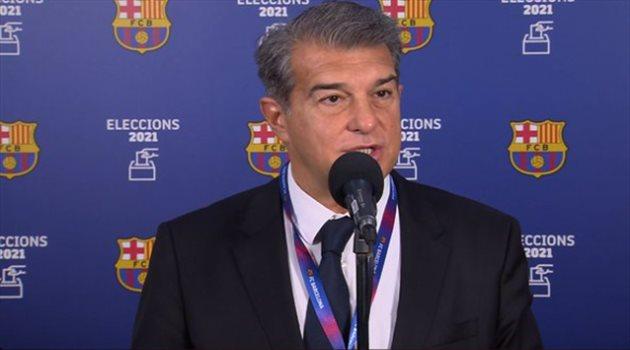لابورتا يقترب من رئاسة نادي برشلونة