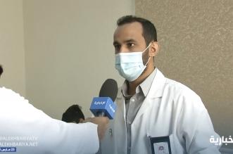عبدالله العنزي أحد طلاب جميعة تراؤف دخلها طالباً ليخدمها دكتوراً
